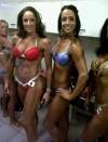 Girl with muscle - Jackie Dutton (L) - Monique Hopley (R)