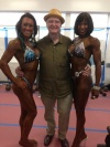 Girl with muscle - Natalie Juron (L) - BridJette Whaley (R)