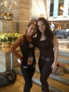 Girl with muscle - Natalie Planes (L) - Lena Squarciafico (R)
