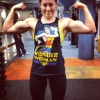 Girl with muscle - victoria