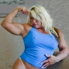 Girl with muscle - Cheyenne Wolf