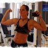 Girl with muscle - vanja