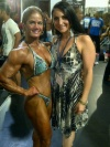 Girl with muscle - Laura Boisacq (L), Cinzia Clapp (R)