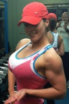 Girl with muscle - Sarah Whitney