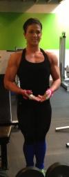 Girl with muscle - Christina Richard