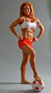 Girl with muscle - Sherry Perper-Rodio