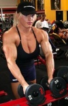 Girl with muscle - joanna thomas