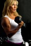 Girl with muscle - Joanna-Lynn McBain
