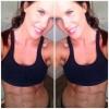 Girl with muscle - Courtney Amelia