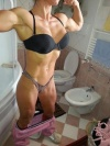 Girl with muscle - Natalia
