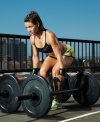 Girl with muscle - Camille LeBlanc Bazinet (CrossFit)