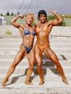 Girl with muscle - Gabriele (Gabi) Mayer  (r)