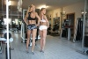 Girl with muscle - Vilma Raciene (L) - Raminta Valaitiene (R)