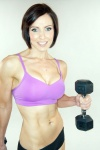 Girl with muscle - Kelly Rennie
