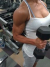 Girl with muscle - Francine Sablan