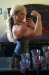 Girl with muscle - Allison Bracy (blondemama32977)