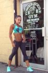 Girl with muscle - India Paulino