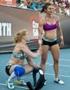 Girl with muscle - Annie Thorisdottir / Julie Foucher (CrossFit)