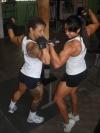 Girl with muscle - Maricelia Oliveira / Mara