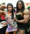 Girl with muscle - Tazzie Colomb / Monique Jones