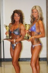 Girl with muscle - Sally Chamberland (L) - Christina Barrett (R)