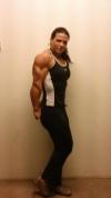 Girl with muscle - Elena Oana Hreapca
