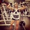 Girl with muscle - julia axford