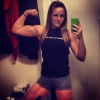 Girl with muscle - sam