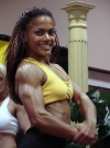 Girl with muscle - Alexandra Bernardin