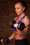 Girl with muscle - Yulianna