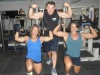 Girl with muscle - Maricelia Oliveira (L) - Maracy Gomes (R)