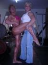 Girl with muscle - Irina Nicoleta Muntean (L) - Alina Popa (R)