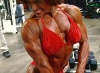 Girl with muscle - Margaret Negrete