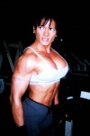 Girl with muscle - viviana requena