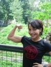 Girl with muscle - Ayoe Nova
