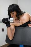 Girl with muscle - Denisa Ballova