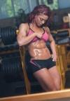 Girl with muscle - Gabriella Bankuti