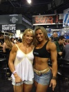 Girl with muscle - Lisa Taubenheim (L) - Juliana Malacarne (R)