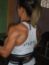 Girl with muscle - Maricelia Oliveira