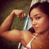Girl with muscle - Sri Jadiah Alnur