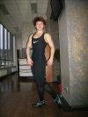 Girl with muscle - maria