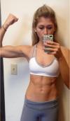 Girl with muscle - Lauren Gleisberg