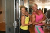 Girl with muscle - Evelina Hammar (L) - Nina Midling (R)