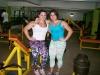 Girl with muscle - Fernanda Deporte (L), Gabriela Oreto Niffa (R)