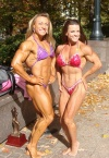 Girl with muscle - Rene Marven (L) - Crystal Rieke (R)
