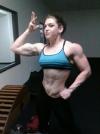 Girl with muscle - Sierra Mangus