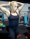 Girl with muscle - victoria lomba