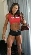 Girl with muscle - Asha Hadley