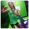 Girl with muscle - maizee demske