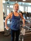 Girl with muscle - Katarzyna Pagowska